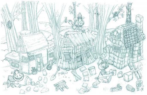 crayon-mine-3-petits-cochons